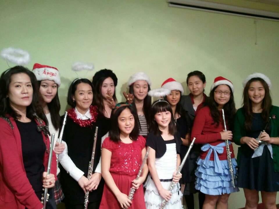 Concert at Music Studio