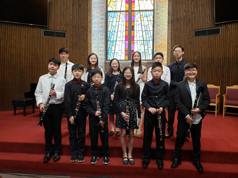2020 Clarinet Junior  high School Concert
