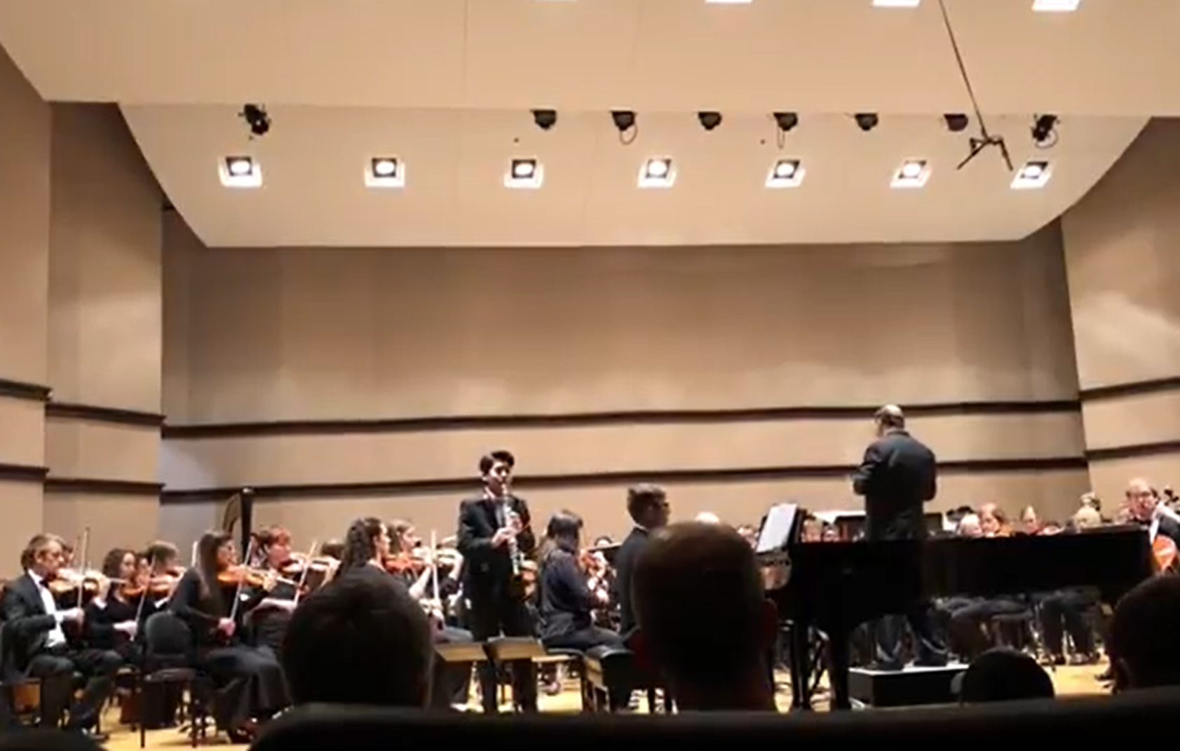 Noah Jung – 'Andantino from Bernstein's Clarinet Sonata with PSO Orchestra '