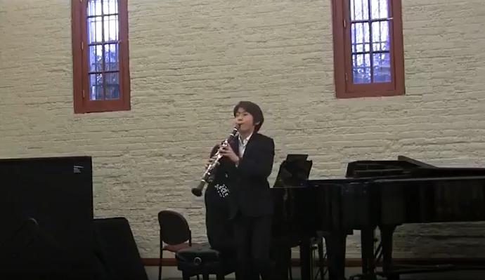 Noah Jung ' Mozart Clarinet Concerto' 2017