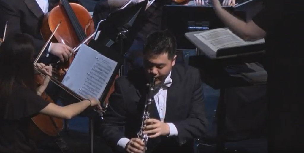 Weber Clarinet Concerto No 1