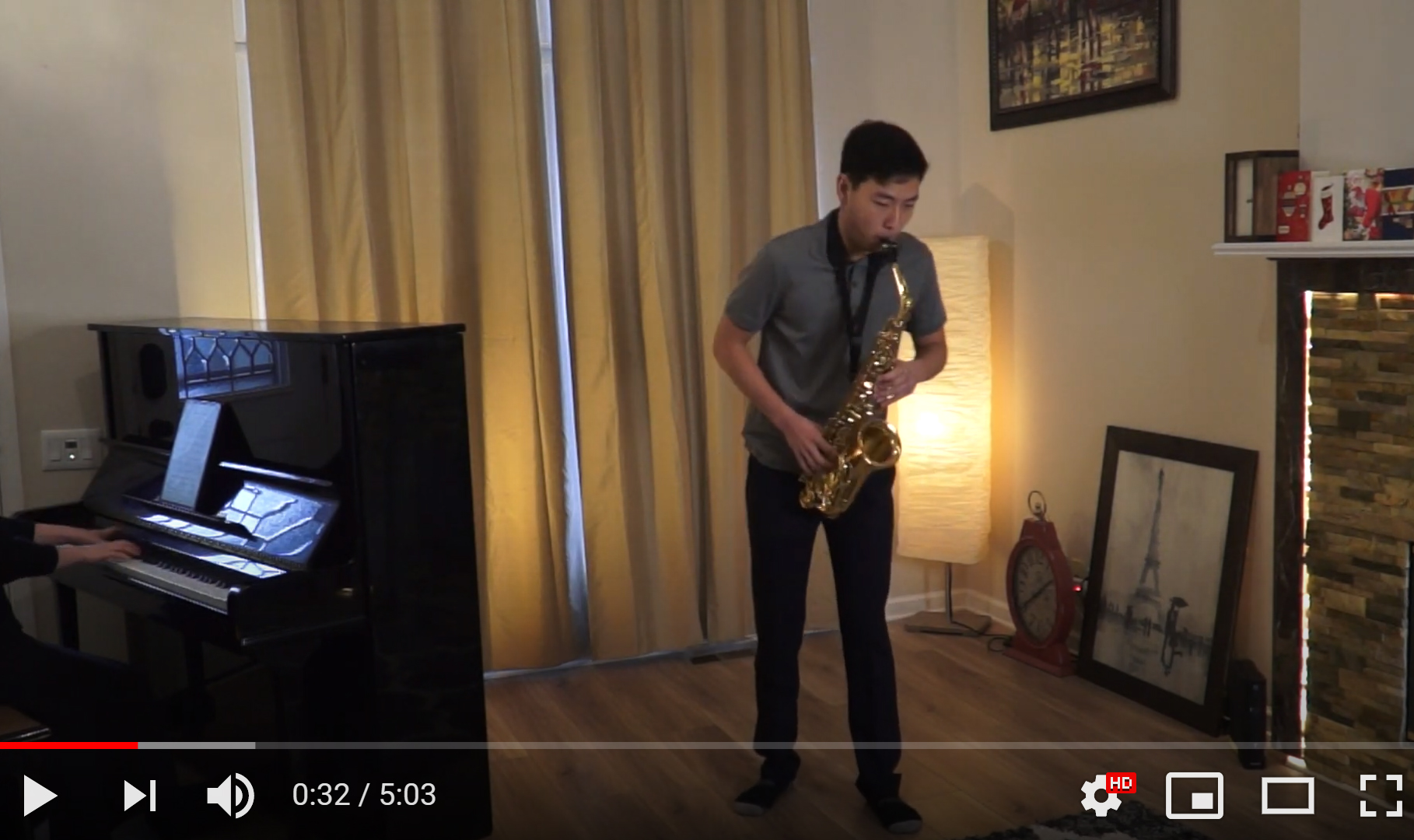 (58d) Glazunov: Saxophone Concerto Op.109 – Mvt. 1 (Allegro Moderato) – Justin Chung